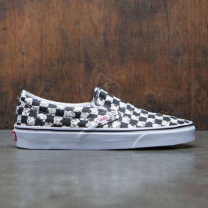 Vans x Peanuts Men Classic Slip-On - Snoopy (black / checkerboard)
