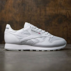 Reebok Men CL Leather NM (white / snowy gray)
