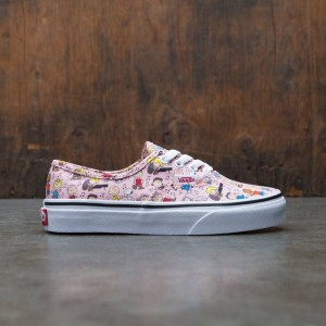 Vans x Peanuts Big Kids Authentic - Dance Party (pink)