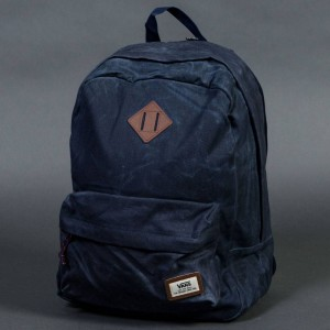 Vans Old Skool Plus Backpack (blue / dress blues / heather)