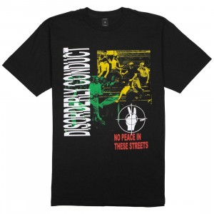10 Deep Men Disorderly Conduct Tee (black)