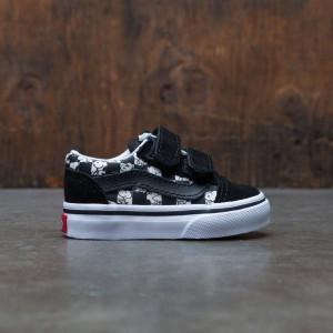 Vans x Peanuts Toddlers Old Skool V - Snoopy (black / checkerboard)