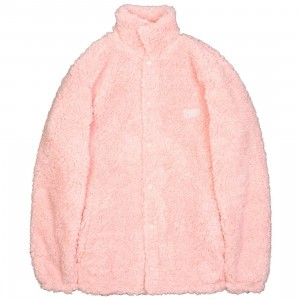10 Deep Men Poodle Fleece Jacket (pink)