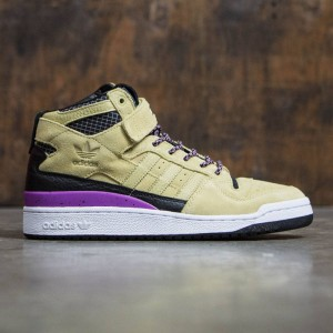 Adidas Men Forum Mid Refined (tan / sand / core black / footwear white)