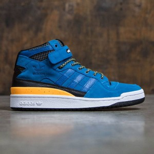 Adidas Men Forum Mid Refined (blue / unity blue / footwear white)
