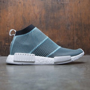 Adidas Men NMD CS1 Parley Primeknit (black / core black / blue spirit)