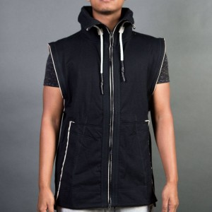 Adidas Consortium Day One Men Sleeveless Tracktop Jacket (black / peyote)