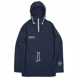 Adidas Men Brumler Smock Jacket (navy / night navy)