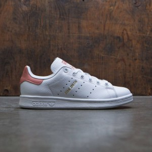 Adidas Big Kids Stan Smith J (white / footwear white / raw pink)