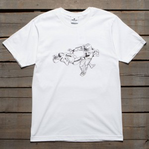 Undefeated Men Laid Out Tee (white)