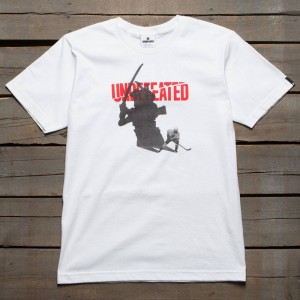 Undefeated Men Shadow Blades Tee (white)