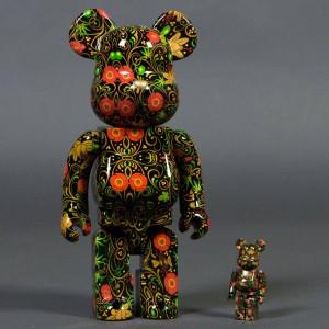 Medicom SSUR 100% 400% Bearbrick Figure Set (multi)
