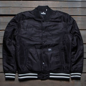 Undefeated Men 5 Strike Stadium Jacket (black)