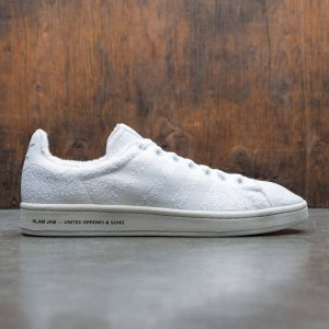 Adidas Consortium x United Arrows And Sons x Slam Jam Men Campus Sneaker Exchange (white / footwear white / chalk white)