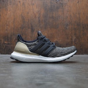 Adidas Big Kids UltraBOOST J (black / core black / raw gold)