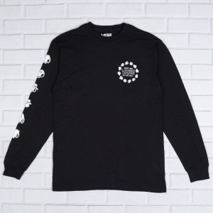 Vans x Peanuts Men Snoopys Brother Long Sleeve Tee (black)