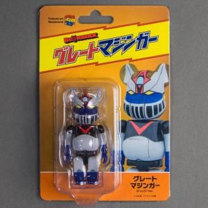 Medicom UFO Robot Great Mazinger Kattobi 100% Bearbrick Figure (multi)