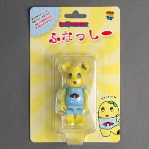 Medicom Funassyi 100% Bearbrick Figure (yellow)