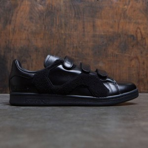 Adidas x Raf Simons Men Stan Smith Comfort Badge (black / core black)