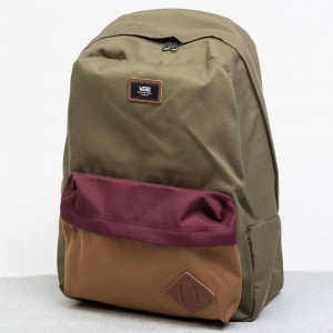 Vans Old Skool II Backpack (purple / grape leaf / gray)