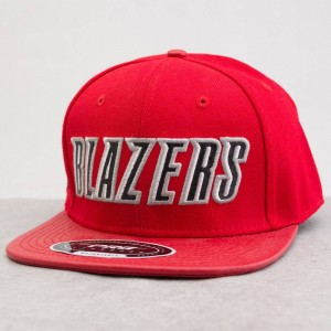 Pro Standard NBA Portland Trailblazers Team Logo Adjustable Cap (red)