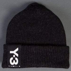 Adidas Y-3 Badge Beanie (black)