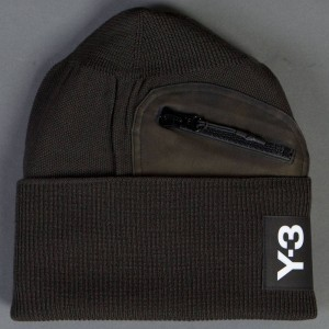 Adidas Y-3 PKT Beanie (olive / black olive)