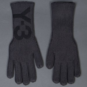 Adidas Y-3 Grey Gloves (gray / solid grey)