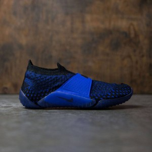 Nike Women City Knife 3 Flyknit (blue / racer blue / black-black)