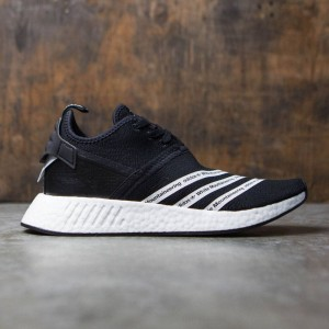 Adidas Men White Mountaineering NMD R2 Primeknit (black / footwear white)