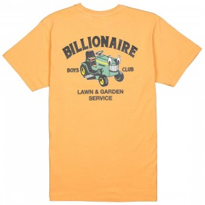 Billionaire Boys Club Men Lawn Care Tee (yellow / apricot)