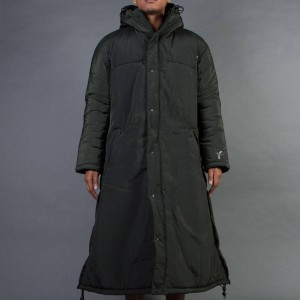 Adidas Y-3 Men Nylon PA Coat (olive / dark black olive)