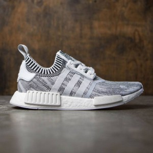 Adidas Men NMD R1 Primeknit (white / footwear white / core black)