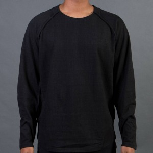 Adidas Y-3 Men Vintage Crew Sweater (black / blackened)