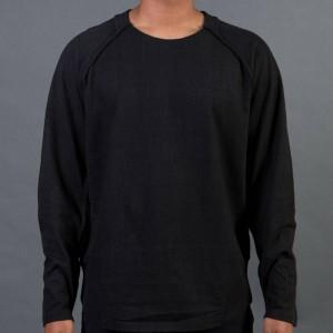 Adidas Y-3 Men Vintage Crew Sweater (black / blackened)