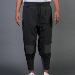 Adidas Y-3 Men Nylon Rib Pants (olive / dark black olive)