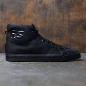 Adidas x Raf Simons Men Spirit High (black / core black / bright yellow)