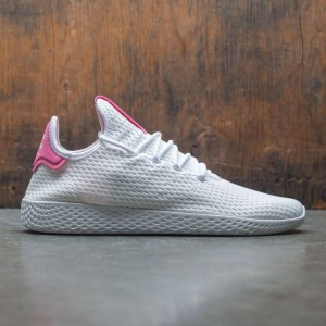 Adidas x Pharrell Williams Men Tennis Hu (white / footwear white / semi solar pink)