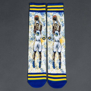 Stance x NBA Men TF Klay Socks (blue)