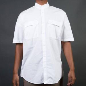 Zanerobe Men Band Rugger Shirt (white)