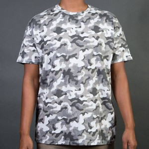 Zanerobe Men Rugger Tee (gray / camo)