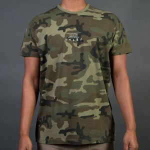 10 Deep Men Corps Surplus Tee (green / faded camo)