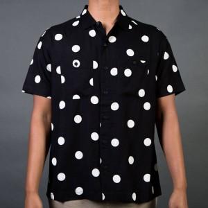 10 Deep Men Ginza Button Up (black / white)