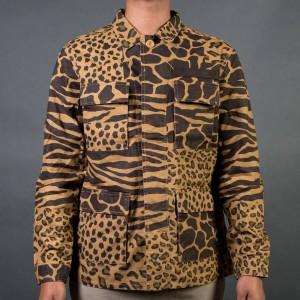 10 Deep Men Grassland Shirt (brown / savannah camo)