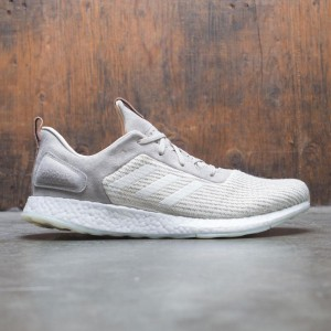 Adidas Consortium x Solebox Men PureBOOST DPR (gray / sesame / cream white)