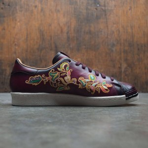 Adidas Consortium x Limited Edt Vault Men Superstar (burgundy / dark burgundy / mesa)