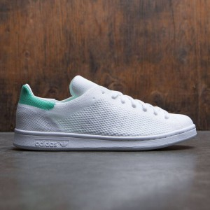 Adidas Men Stan Smith Primeknit (white / footwear white / green glow)