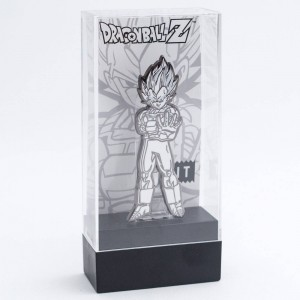 BAIT x FiGPiN Dragon Ball Z Super Saiyan Vegeta - 2017 NYCC Exclusive Limited 500 (white)