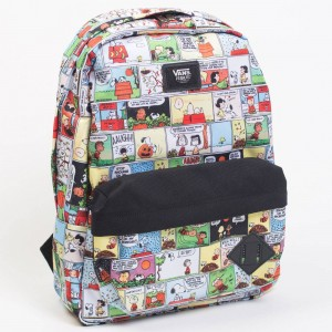 Vans x Snoopy Peanuts Old Skool II Backpack - Peanuts Comic (white / black)