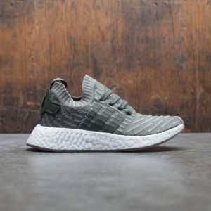Adidas Women NMD R2 Primeknit W (green / sargent major / shock pink)